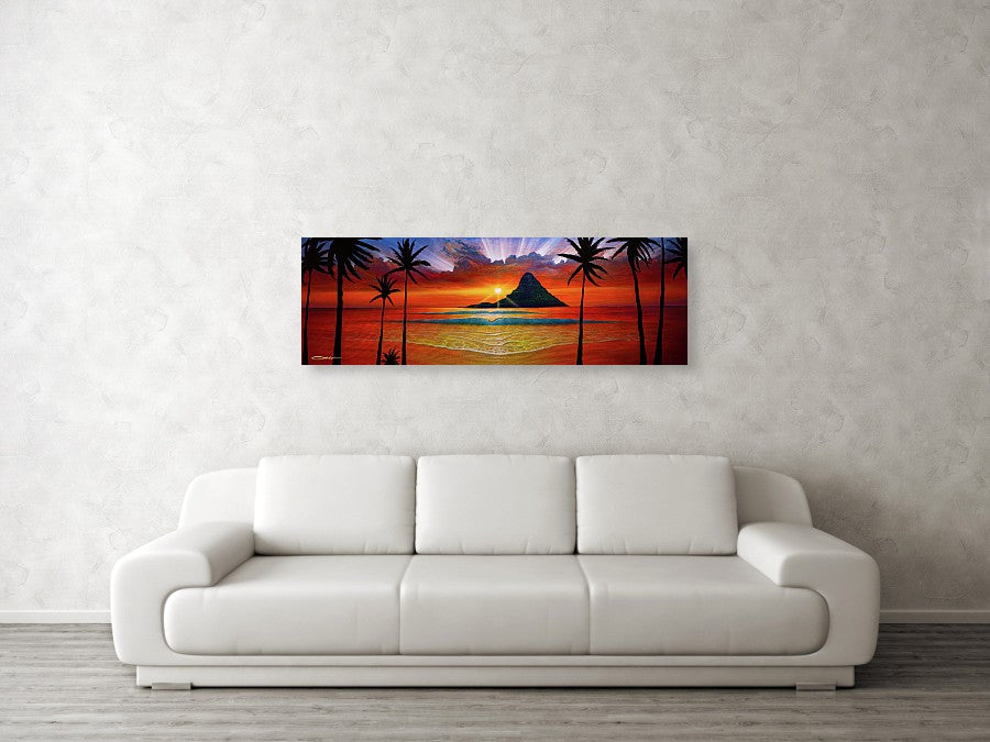 """Another Day In Paradise"" Original Painting - SeboArt.com"
