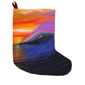 """Sunset Magic"" Christmas Stockings"