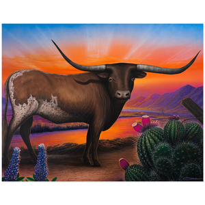""" Heart of a Bull"" Acrylic Prints"