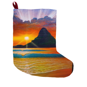 """Another Day in Paradise"" Christmas Stockings"