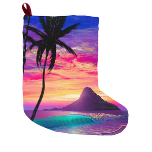 """Down by the Sea"" Christmas Stockings"
