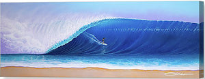 """Charging"" Original Painting on 12"" x 36"" x 2"" Deep cradled Gesso Board"