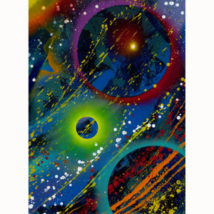 """Cosmic Radiance"" Various Original Artworks - SeboArt.com"