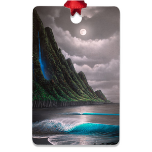 """Na Pali Dream"" Metal Ornaments"