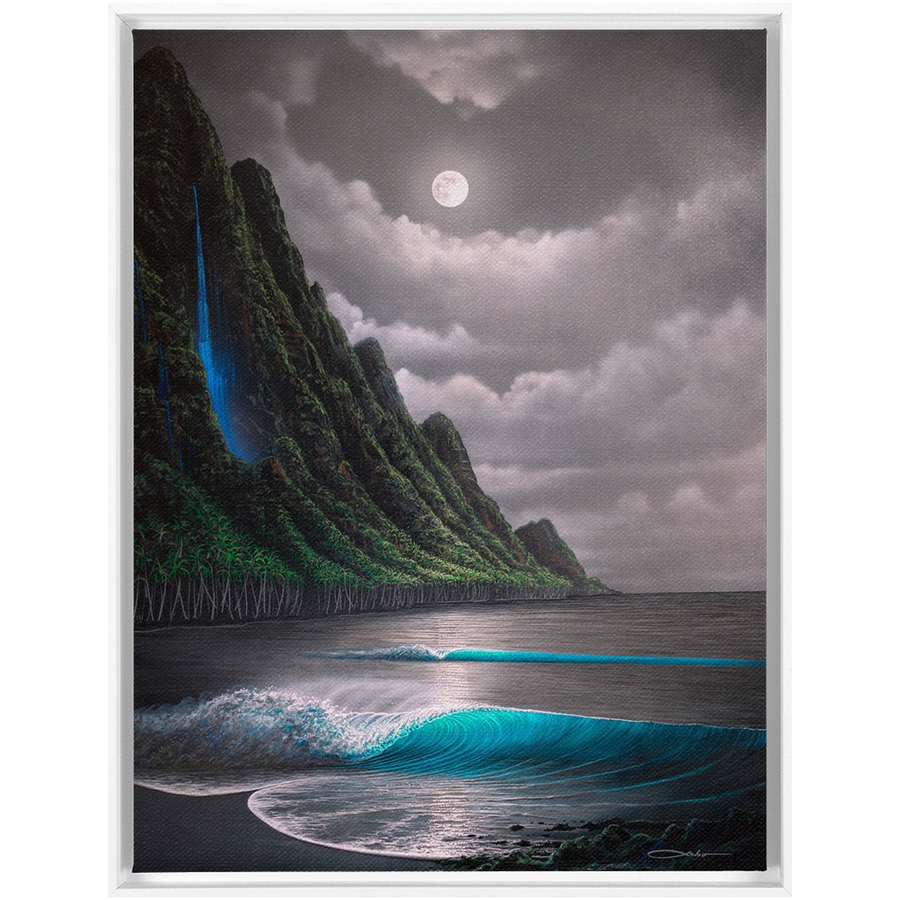 """Na Pali Dream"" Framed Traditional Stretched Canvas"