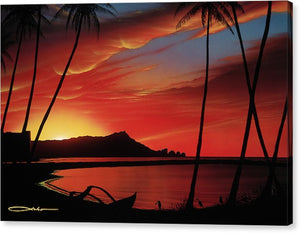 """Diamond Head Sunrise"" Limited Edition Fine Art Giclee - SeboArt.com"
