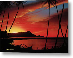 """Diamond Head Sunrise"" Open Edition Fine Art Giclee - SeboArt.com"