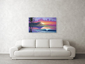"""Early Waikiki"" Limited Edition Fine Art Giclee"