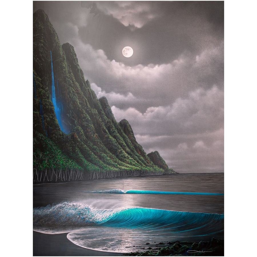 """Na Pali Dream"" Metal Prints"