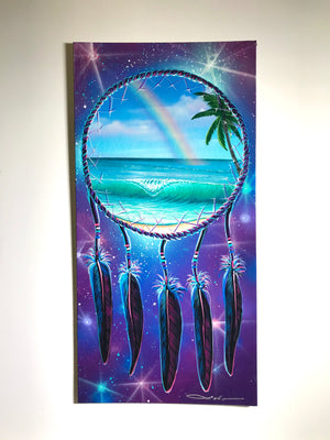 "12"" x 24"" ""Perfect Dream"" Original Painting on Canvas Panel"