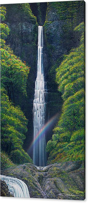 """Kauai Falls"" Limited Edition Fine Art Giclee from $399"