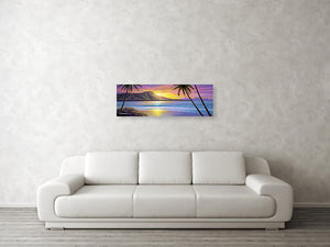 """Morning Glory"" Original Painting - SeboArt.com"
