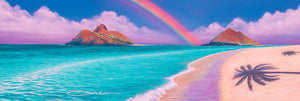 """Over the Rainbow"" Limited Edition Fine Art Giclee - SeboArt.com"