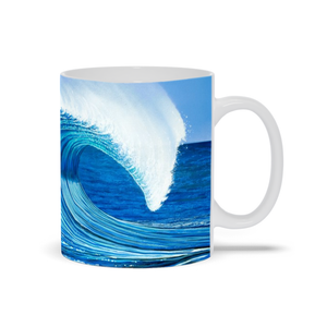 """Waimea Bay"" Mugs"