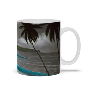 """Moonrise Waikiki"" Mugs"