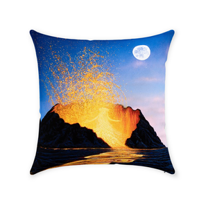 """Pele's Dance"" Throw Pillows"