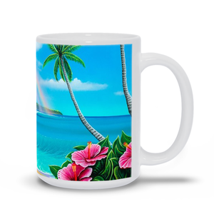 """Diamond Head Dream"" Mugs"