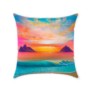 """Infinite Bliss"" Throw Pillows"