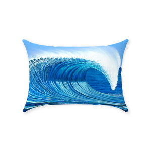 """Waimea Bay"" Throw Pillows"