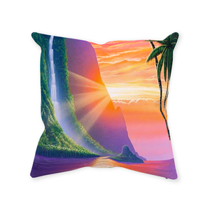 """Morning Romance"" Throw Pillows"