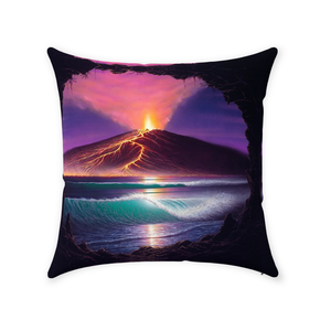 """Voice of Pele"" Throw Pillows"
