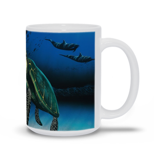 """Honu Reef"" Mugs"