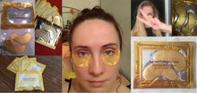Crystal Gold Collagen Eye Mask (Anti-Wrinkle Eye Patches)