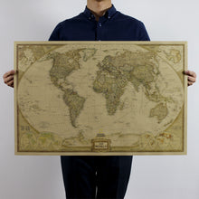 Classic Large World Map