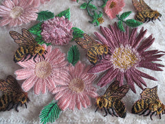 Busy bees appliques