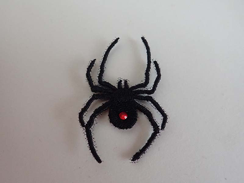 Red back spider applique
