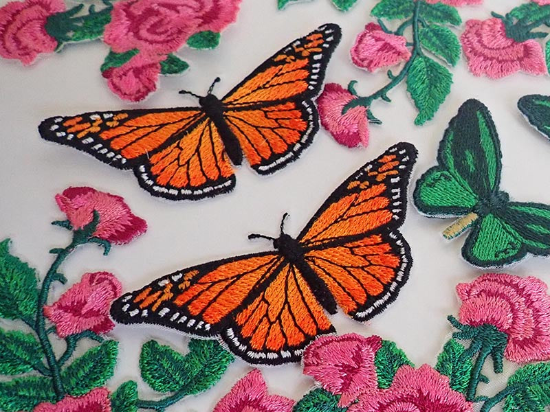 Viceroy butterfly applique
