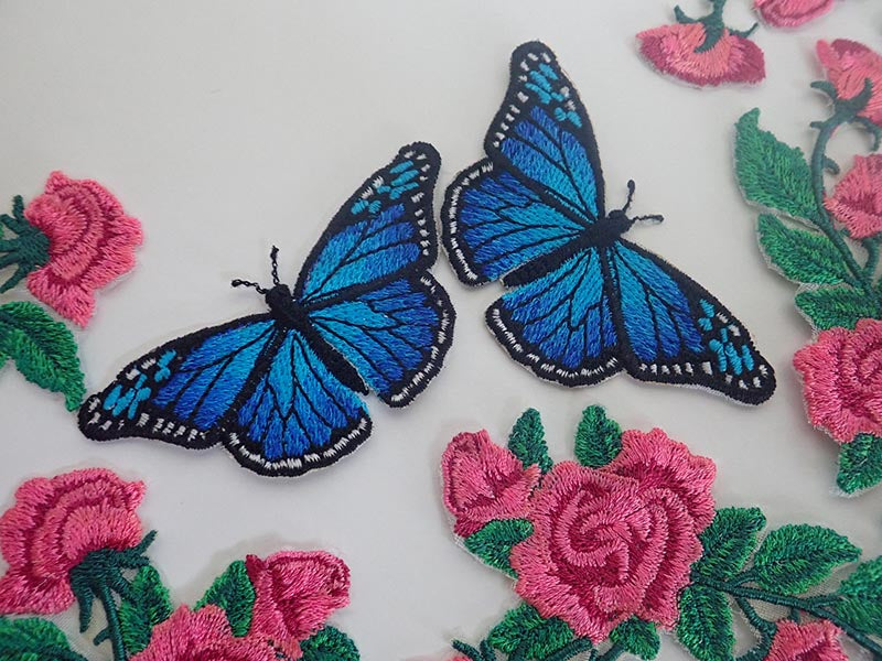 Butterfly appliques
