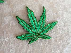 Applique Cannabis leaf