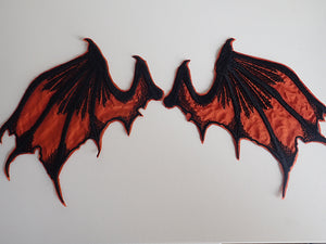 Dragon wings, sew on appliques sale