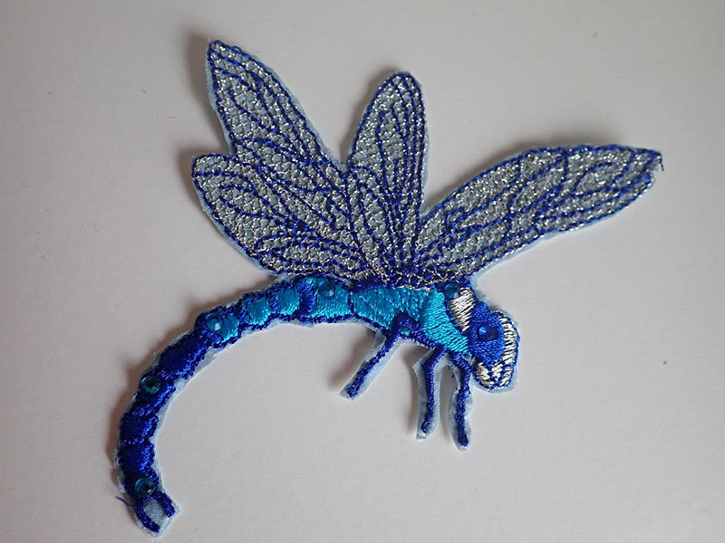 Dragonfly appliques