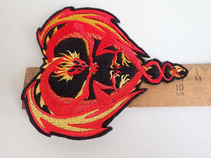 Dragon iron on patch