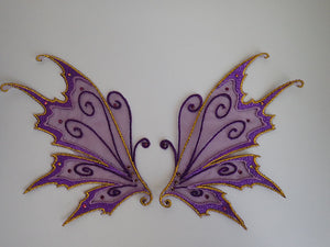 Fairy wing appliques