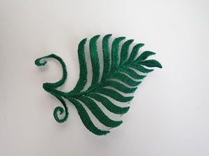 Fern leaf applique