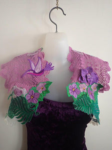 Little birds vintage lace bolero