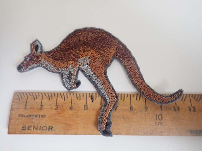 Australian Kangaroo iron on patch
