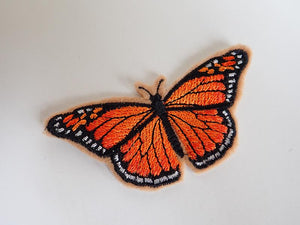 Butterfly iron on patch