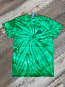Mint Green Grace T Shirt Tie Dye