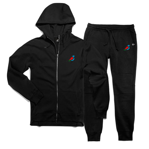 LADIES TRACKSUIT BLACK