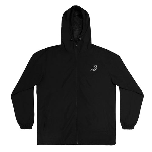 BLACK 3M REFLECTOR ICON JACKET