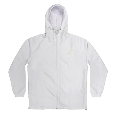 WHITE GLOW IN THE DARK ICON JACKET