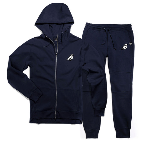 BIRB FLEECE JOGGER NAVY BLUE