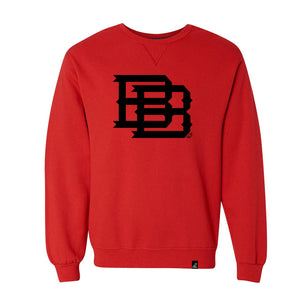 WOMEN'S BB MONOGRAM SWEATSHIRT