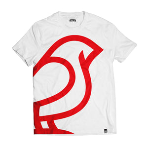 OVERSIZED ICON WHITE & RED