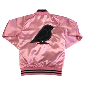 LADIES SATIN VARISTY JACKET