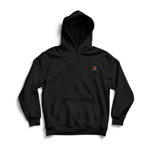 EMBROIDERED ICON COLOR HOODIE